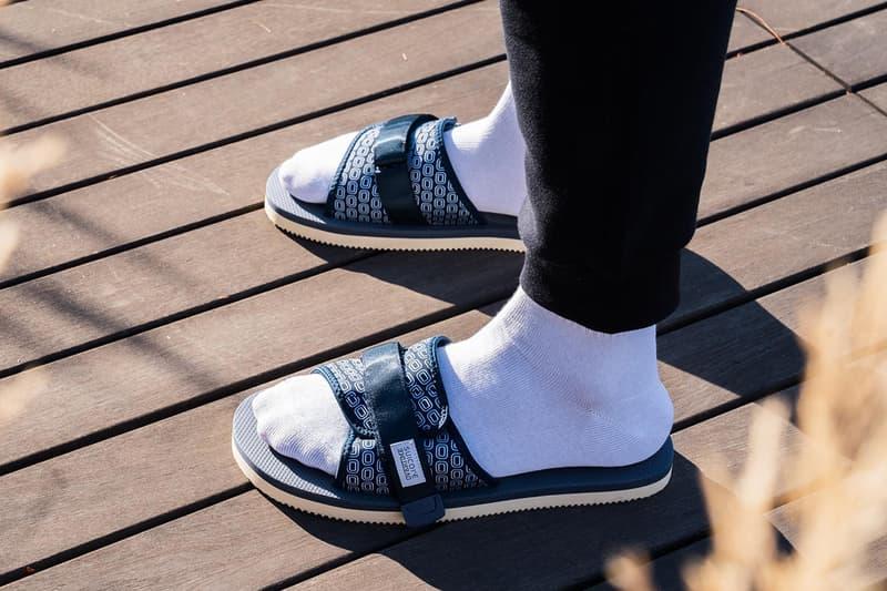 suicoke overtime padri sandals collaboration release date november 2015 red blue neoprene upper o logo co branded velcro straps eva footbed