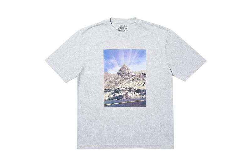 Palace Ultimo 2019 Tees Short Sleeve Long Sleeve Muscle Bicep Triferg Logo Print Bold Colors Heatmap Mountains Logos Branding London Skateboarding Letting off Steam Iron Mad Maximus