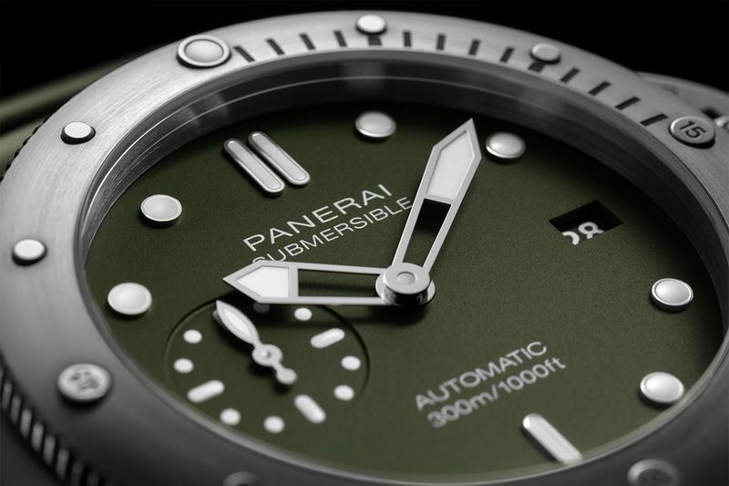 Panerai Matte-Green PAM1055 Release Submersible watches swiss watches limited diving watch