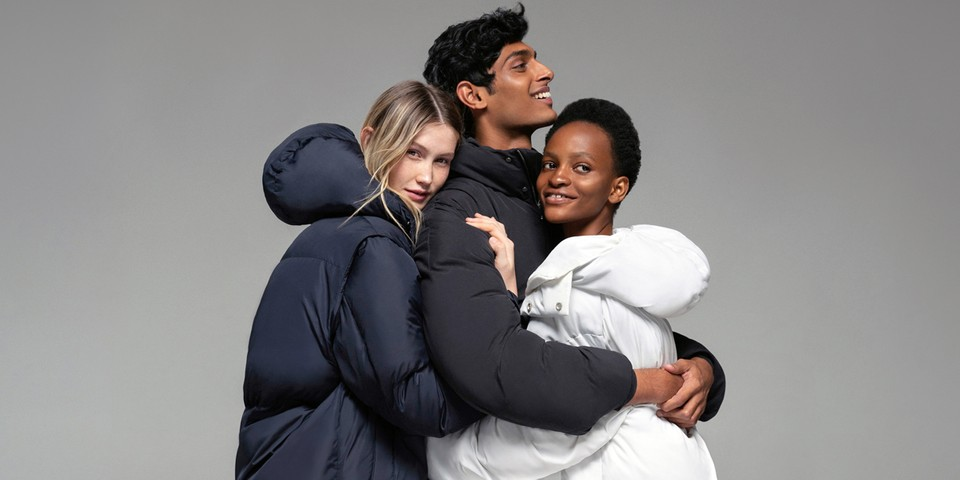 PANGAIA Introduces Fully Biodegradable FLWRDWN Puffer Jackets