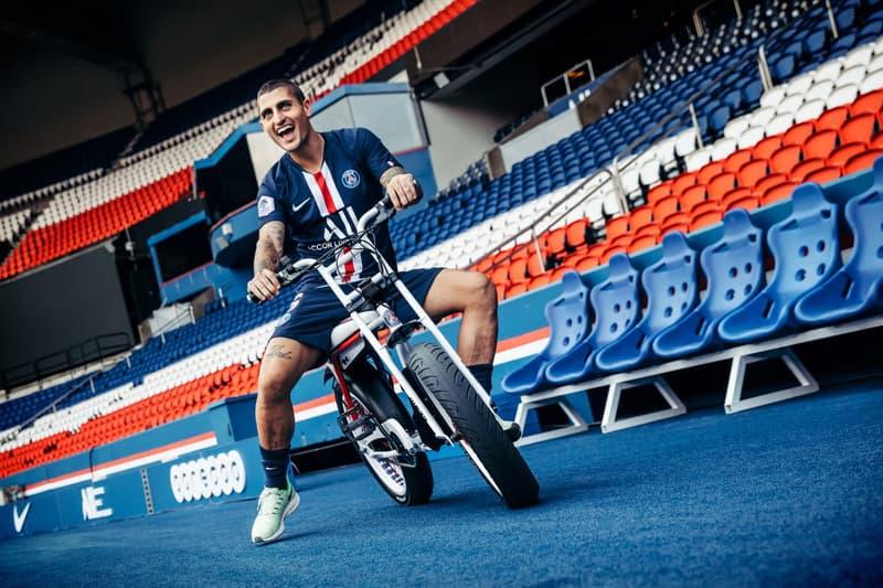 Paris Saint-Germain x SUPER73 Electric Motorbike psg football club automotive bikes sports collaborations
