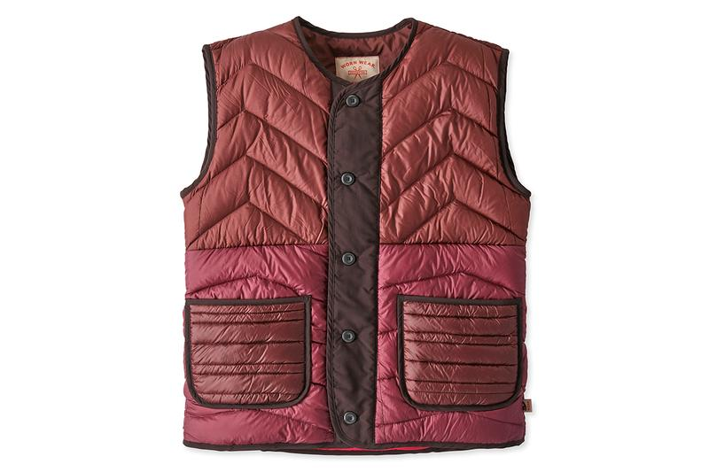 Patagonia ReCrafted Reworks Unrepairable Clothes new garments handmade la sustainability reconstruct deconstruct recycle down vest jacket bags t-shirts layering outerwear upcycle vintage