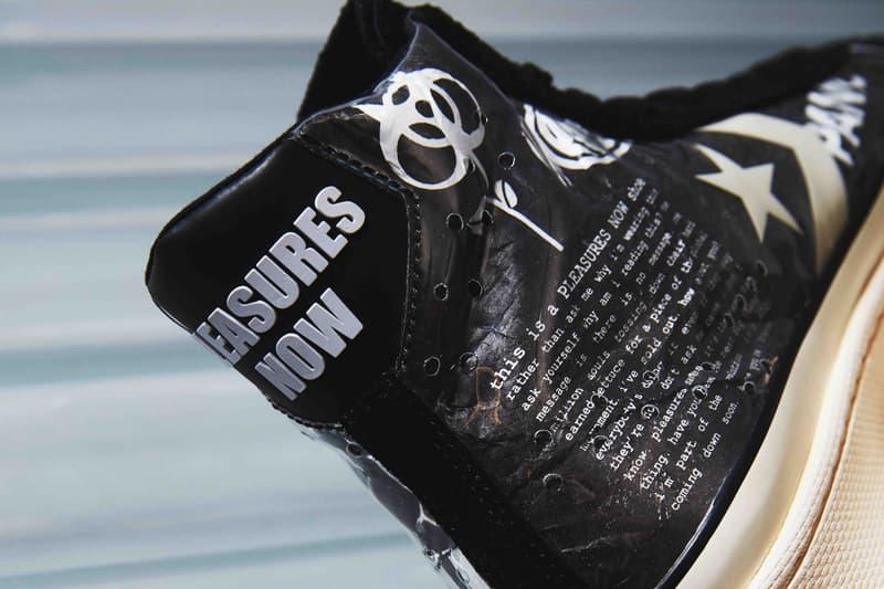 converse pleasures pro leather punk rock black white egret 165602c release date info photos price