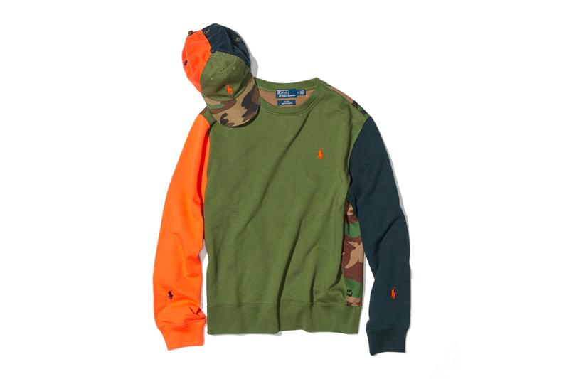 Polo Ralph Lauren BEAMS Multi Panel Classics sweaters caps hats pullovers crewnecks fall winter 2019 capsule collection ivy casual japanese fleece sweatshirts patchwork crazy pattern