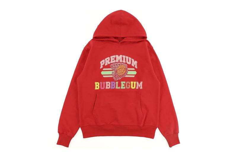 Premium BUBBLEGUM Hoodie Release Kanye West Black Red Nubian Shibuya Parco Buy Info Basketball