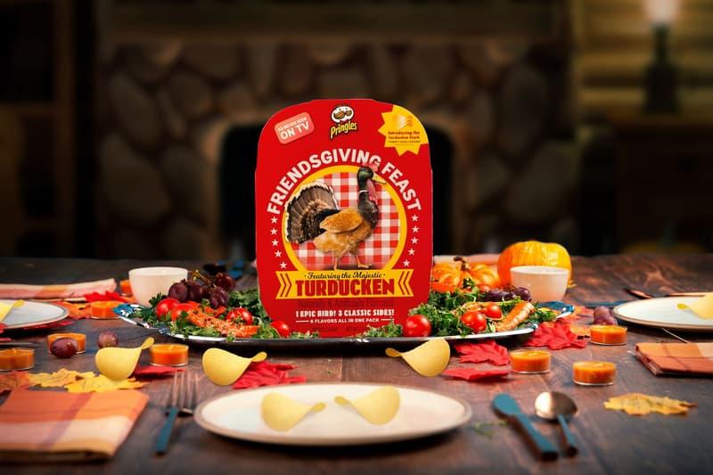 Pringles Turducken Friendsgiving Feast Kit Release Info Date Buy Chicken Turkey Duck Flavored Chips