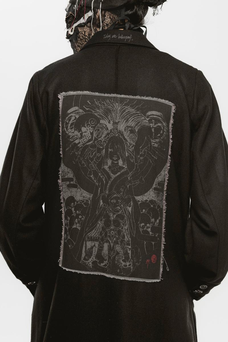 Professor.E Collaborate with Tokyo Jesus for Capsule Collection skulls Hannya Princess T-Shirt Death Hunter Hoodie Release Info Date