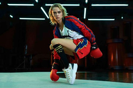 A Look at the Balmain x PUMA Campaign Featuring Cara Delevingne
