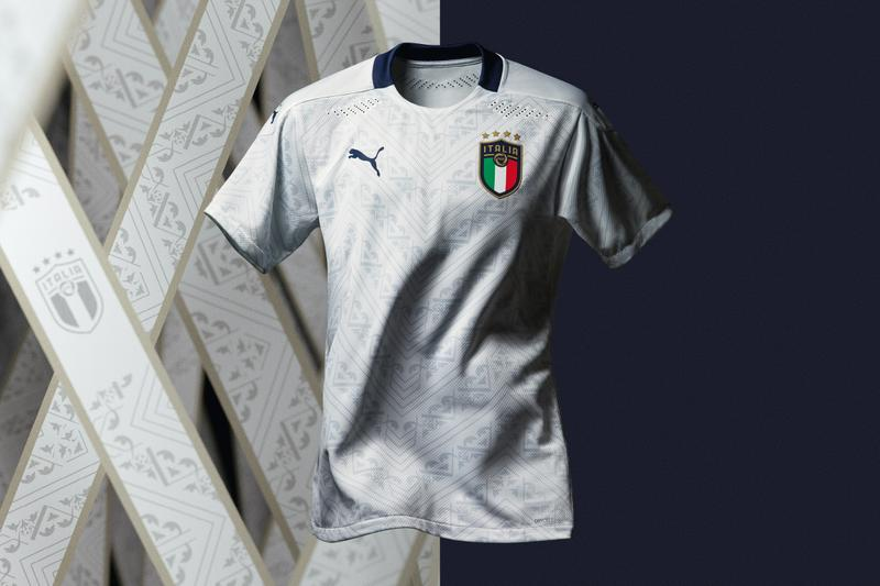 italy euro 2020 away jersey puma white renaissance modern release information buy cop purchase football soccer