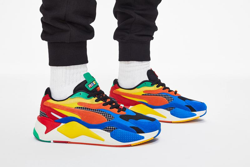 PUMA RS-X3 'Sonic The Hedgehog' Collaboration Sneaker Rubik's Cube Shoe Footwear Release Information Drop Cop Capsule Collection T-Shirts Hoodies Beanie Crossbody Bag