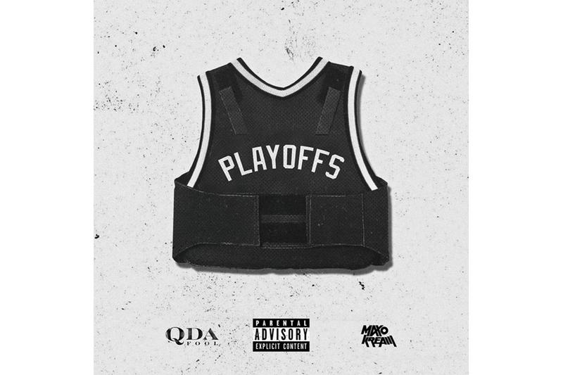 "Q Da Fool ""Playoffs"" Feat. Maxo Kream & Hit-Boy single stream spotify apple music listen now hip-hop rap"