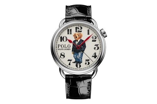 Ralph Lauren Introduces Three New Versions of the Polo Bear Watch
