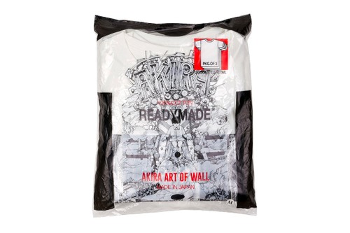 "READYMADE Readies an ""AKIRA ART WALL PROJECT"" T-Shirt Pack"