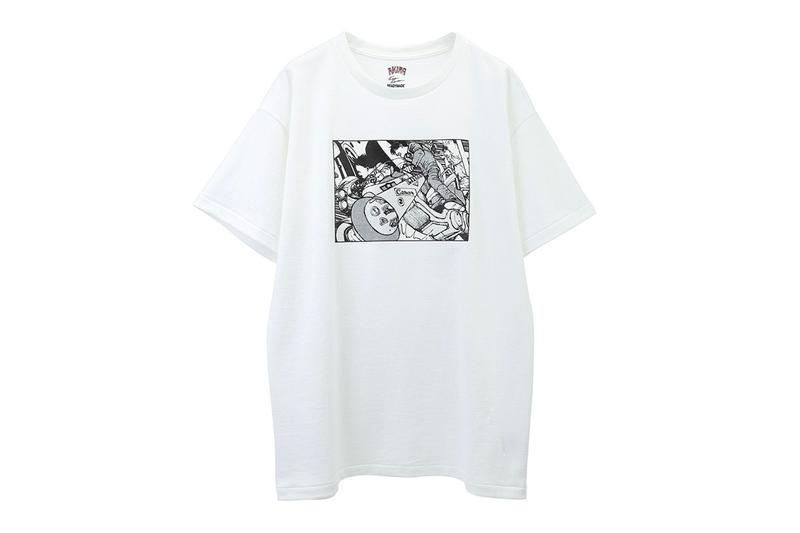 READYMADE AKIRA ART WALL PROJECT T Shirt Three Pack Release Info Buy White Katsuhiro Otomo