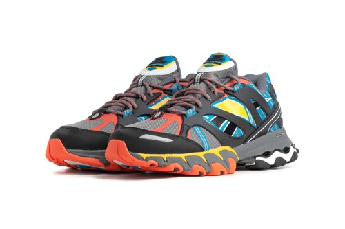 Reebok Enlivens DMX Trail Shadow With Eclectic Palette