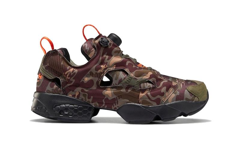 reebok instapump fury og pump camo green orange DV6962 release date info photos price