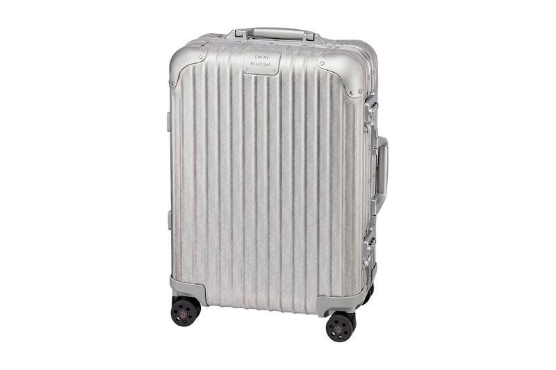 Dior x RIMOWA Shibuya PARCO Release  pre-order suitcases luxury bags aluminum carry-on luggage