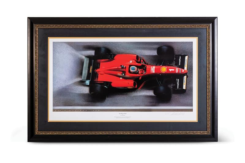 rm sothebys online formula 1 f1 memorabilia auction racing michael schumacher