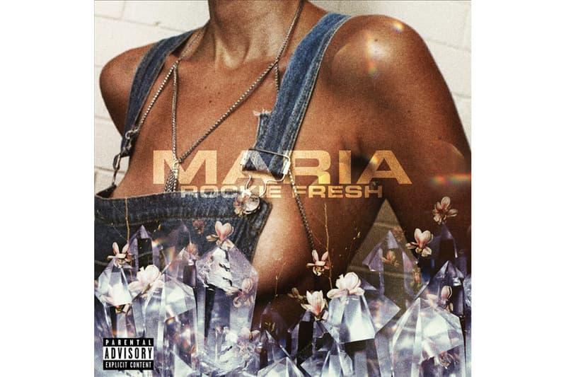 "Rockie Fresh ""Maria"" Single Stream spotify apple music listen now chicago hip-hop rap r&b rostrum records 'destination' album track"