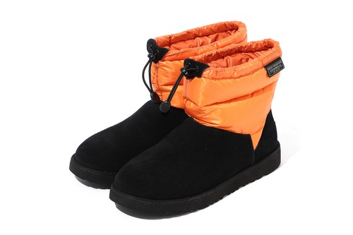 BEAMS x Rocky Mountain Featherbed x UGG Craft Bespoke Classic Mini Boot