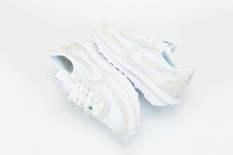 "sacai x Nike LDWaffle ""White"" Better Look sneakers collaborations"