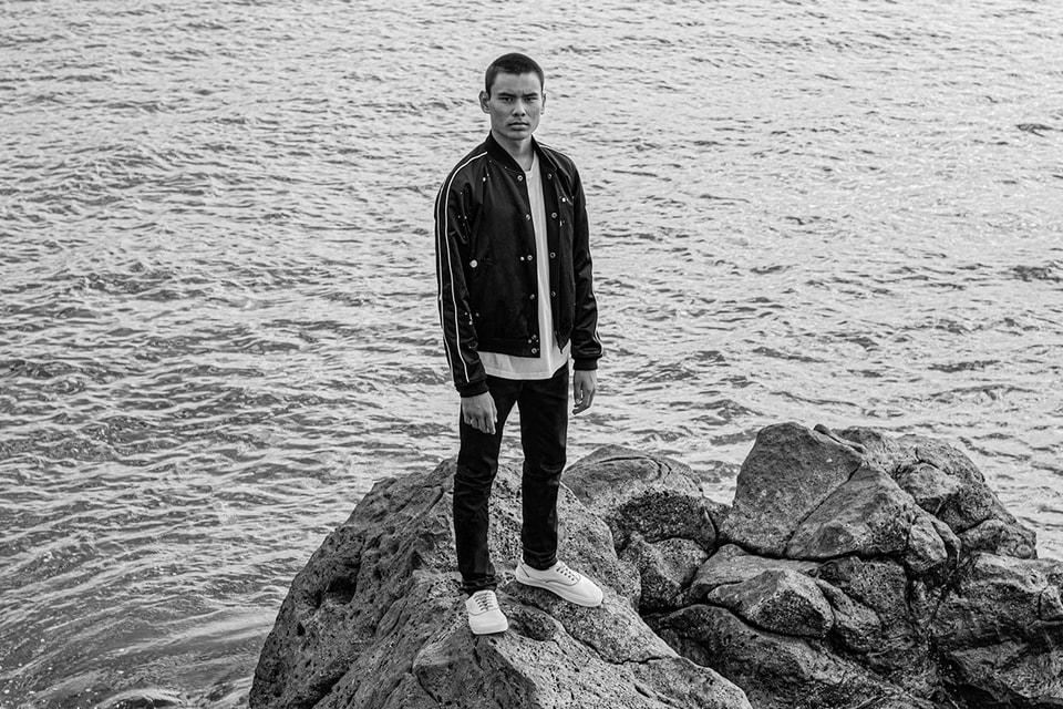 Evan Mock Captures The Free Irreverent Spirit Evoked by Saint Laurent