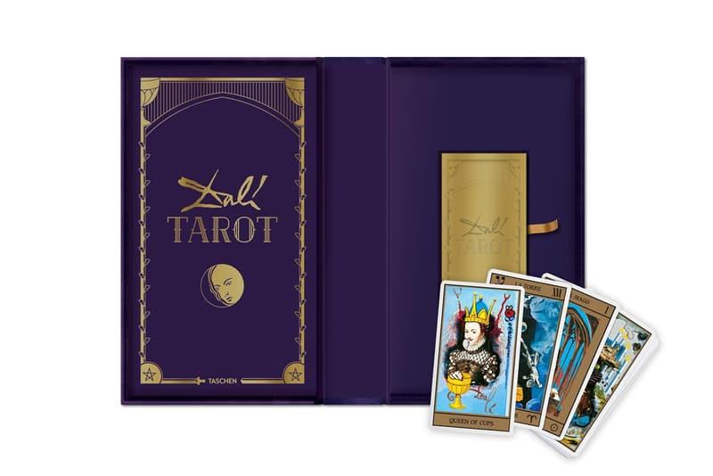 salvador dali tarot cards taschen books