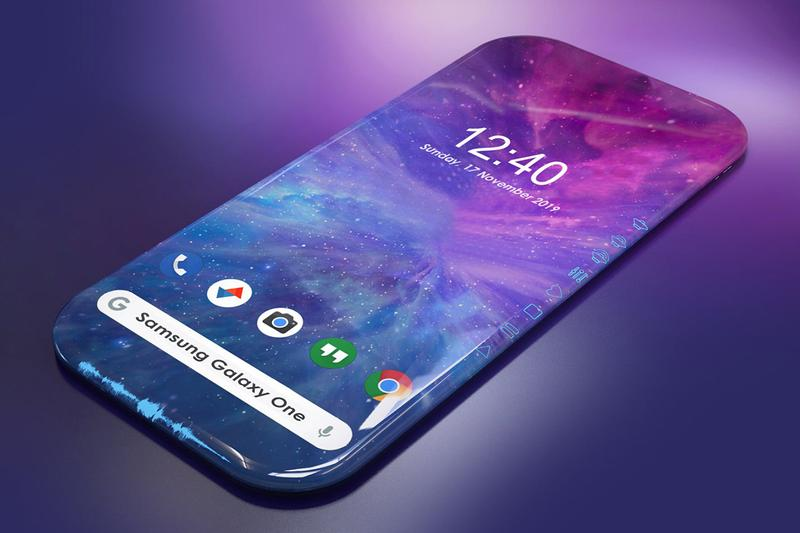 Samsung Galaxy New Patent 3D Display Side-Touch Function Surrounded Screen Function Technology Smartphones Korean Mobile Phone Company United States Patent and Trademark Office