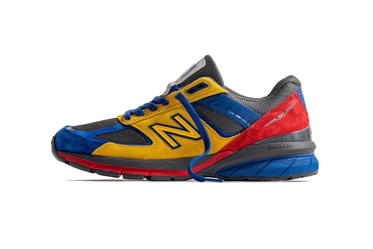 Shoe City x EAT x New Balance 990v5