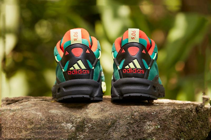 size adidas lxcon 94 vietnam jungle marathon green orange black release date info photos price