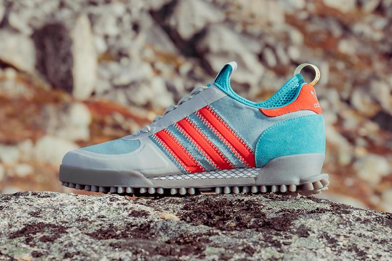 size adidas originals marathon pack tr greenland grey blue orange white release date info photos price collection collaboration exclusive colorway