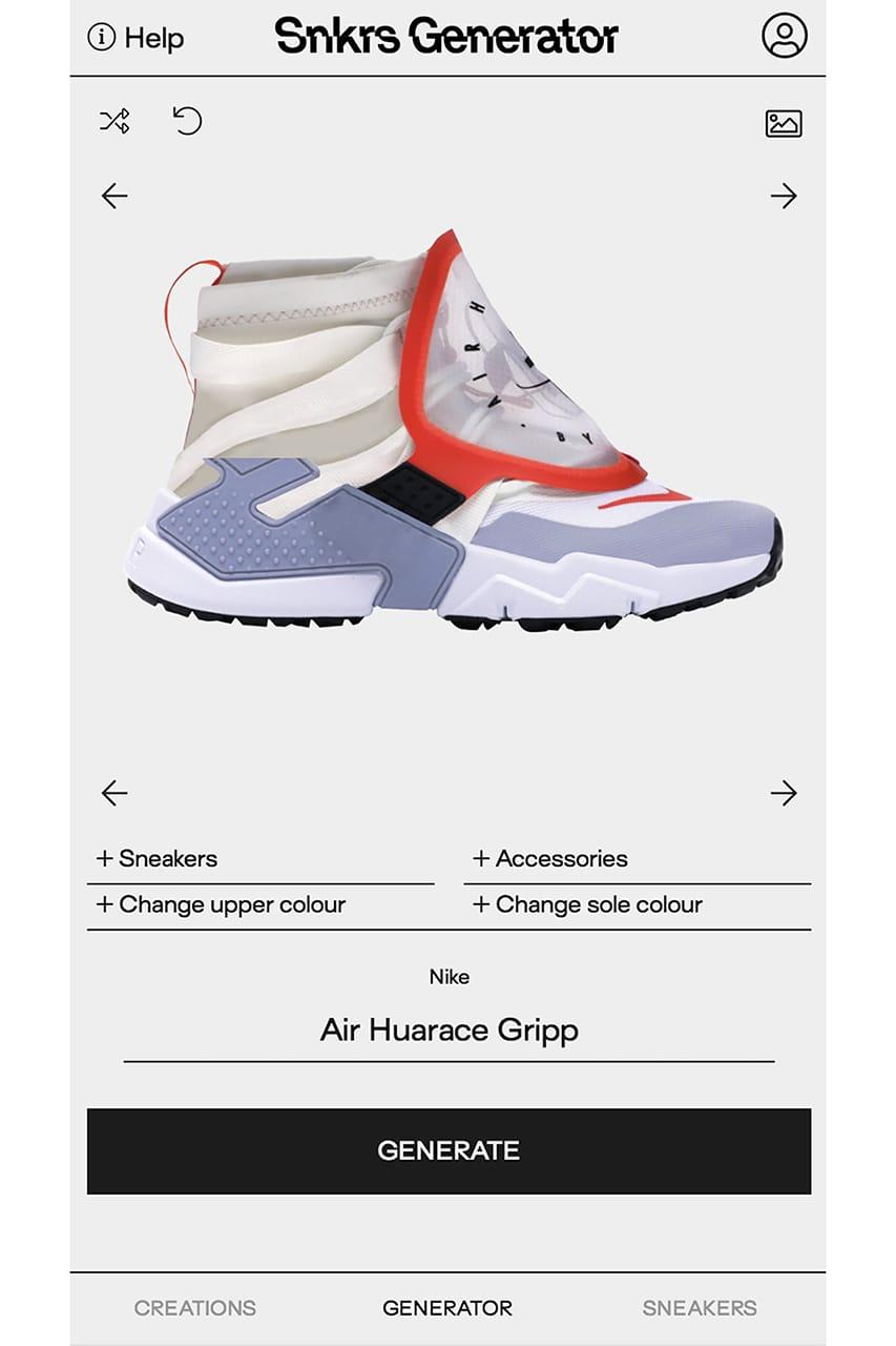 Sneakers Generator App Custom