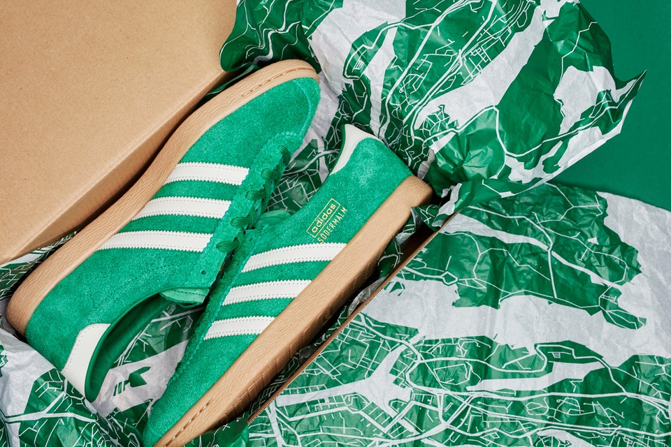 "Sneakersnstuff Celebrates 21 Years in Stockholm With adidas Stadt ""Södermalm"""