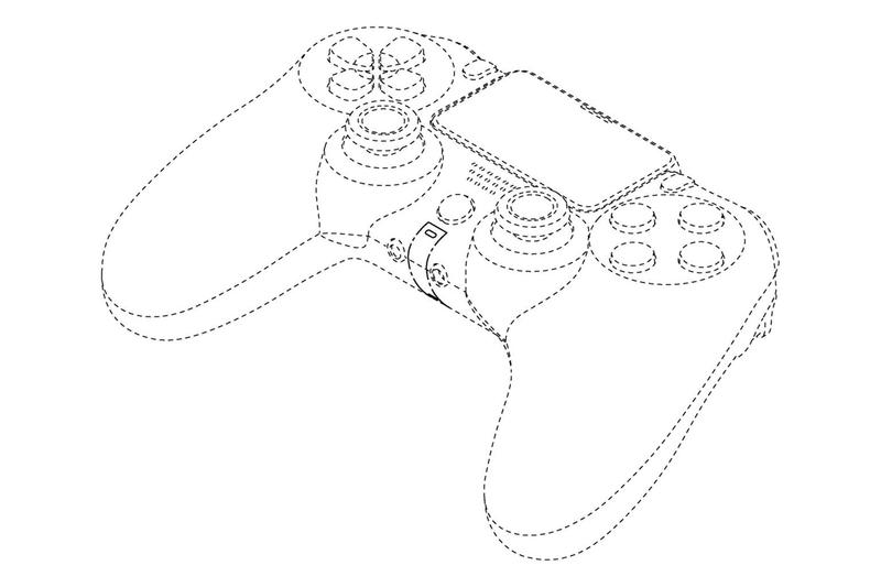 Sony patent ps5 playstation 5 controller dual shock 5 haptic technology touch pad thumb sticks blueprint
