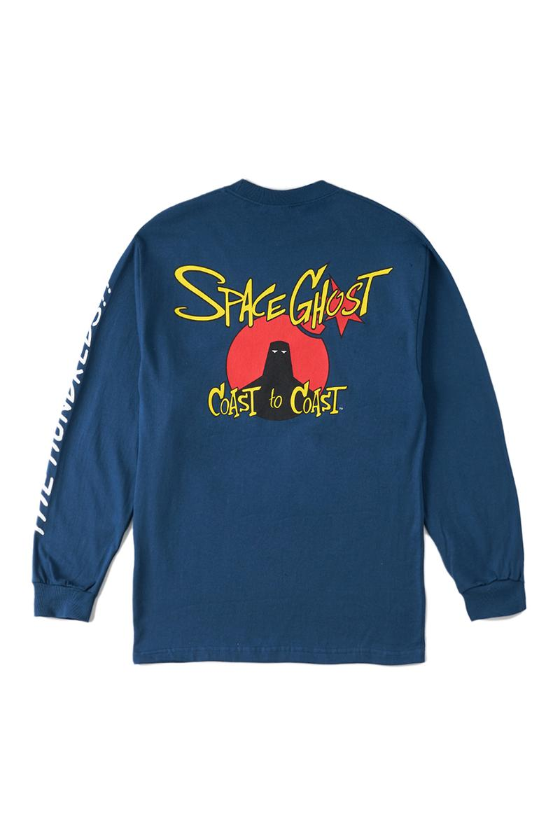 'Space Ghost Coast to Coast' x The Hundreds Capsule Collection FW19 Fall Winter 2019 First Look Hoodies T-Shirts Long-Sleeve Mugs Cups Adult Swim Cartoon Network
