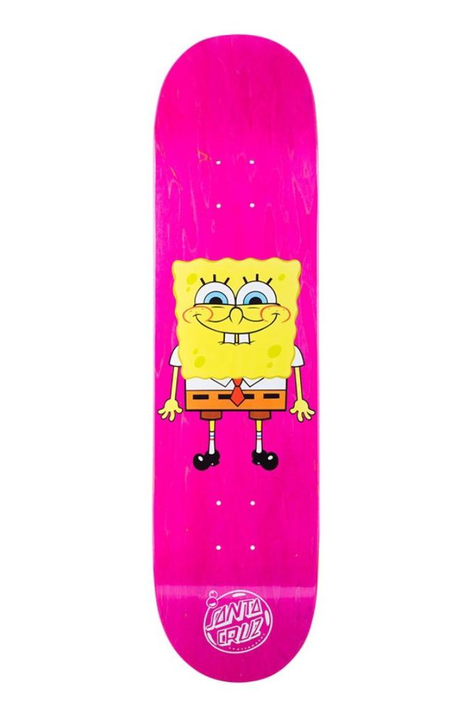 spongebob sponge bob square pants santa cruz skateboards skateboard deck krabby patty captain release date info photos price