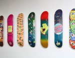 SpongeBob SquarePants & Santa Cruz Skateboards Present Collaborative Decks