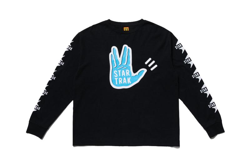 Star Trak x HUMAN MADE Apparel Collaboration collection isetan shinjuku japan mens pharrell williams nigo sneakers plastic box release date drop buy november 27 2019 december 25 buy