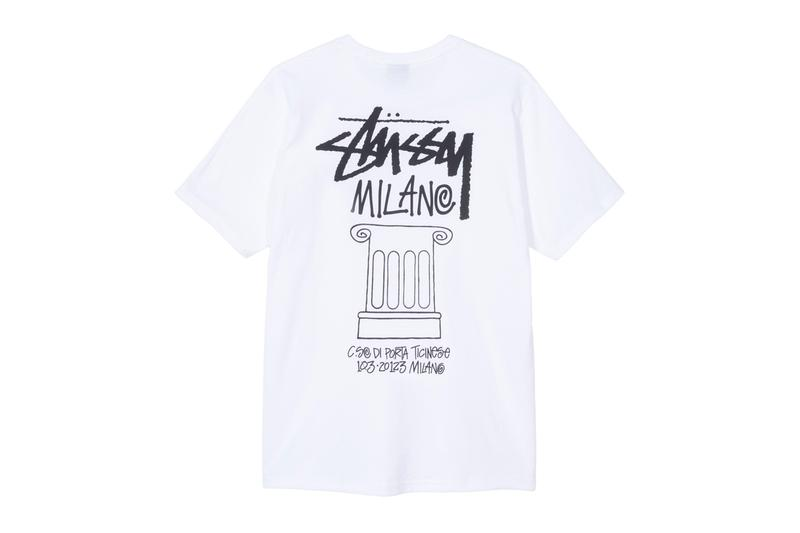 Stussy Milano Open New Chapter Store physical brick and mortar W PA design deconstructed space California Slam Jam Socialism Italy streetwear clothing boutique interior architecture