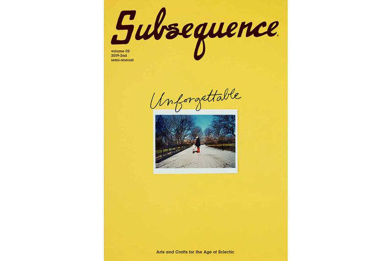 'Subsequence' Vol. 2 Magazine by visvim buy available price interview essay content cubism inc