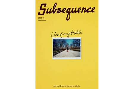 visvim's 'Subsequence' Magazine Launches Second Volume