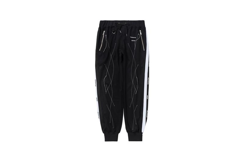 sulvam teppei fujita onitsuka tiger collaboration 70th anniversary tai chi reb sneakers track top pants black and white release november 18 collection date