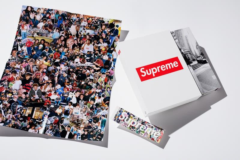 Supreme x Phaidon Vol. 2 Hardcover Monograph box logo new york books magazines coffee table books print archive streetwear fashion skate skateboarding