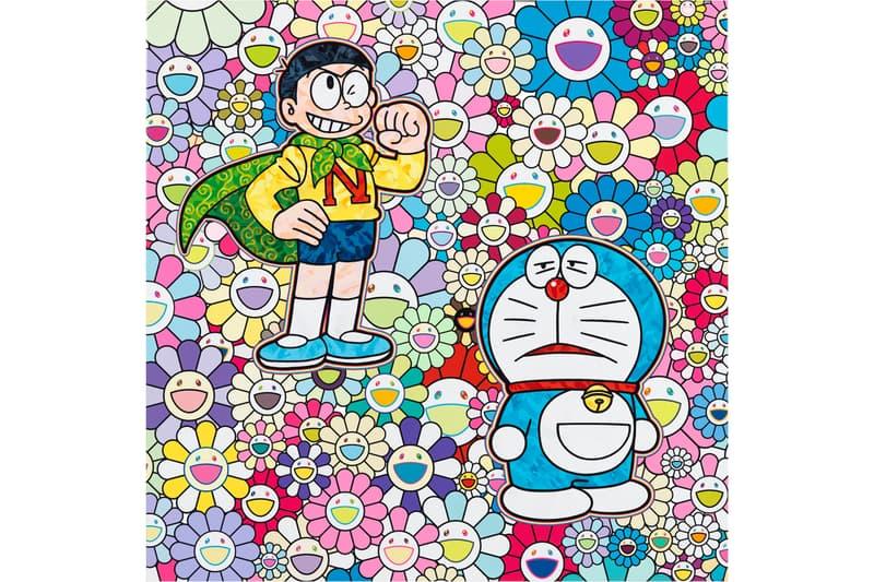 takashi murakami doraemon exhibition perrotin tokyo