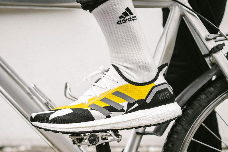 Team Vitality x adidas AM4 VIT.01 Sneaker Collaboration speedfactory exclusive limited edition gaming esports running shoe november 9 2019 release date colorway drop