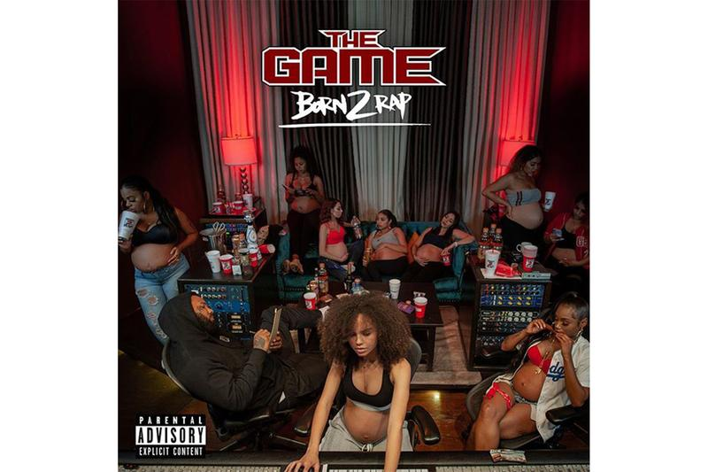 The Game Born II Rap Album Art Tracklist