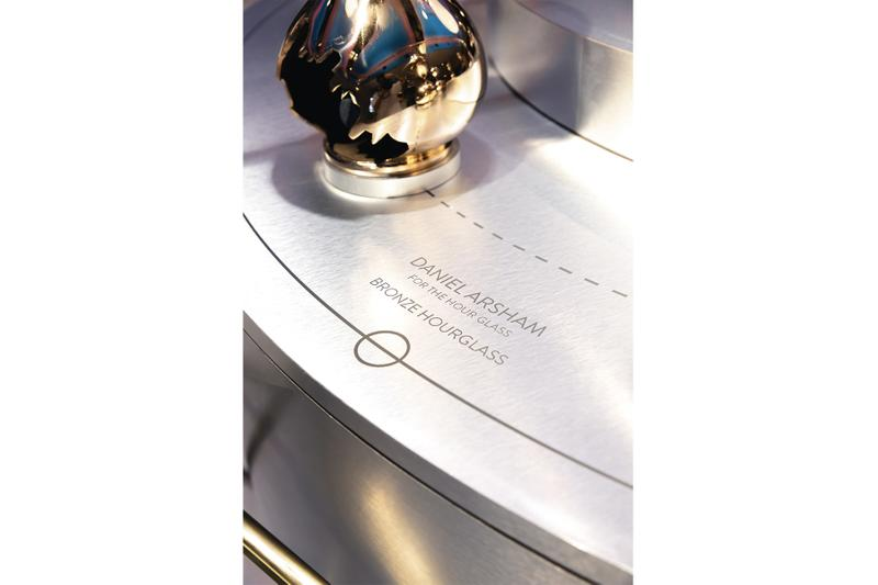 "The Hour Glass 40th Anniversary Exhibition Recap ""Then Now Beyond"" Marc Newson luxury watch retailer singapore daniel arsham nendo cuboid clock studio wieki somers climate change nanoballs hourglass leica camera clock timepiece"