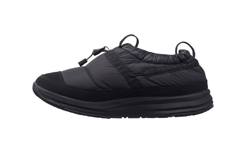 The North Face Japan Insulated Nupsi Traction Light Mock IV Thermolite Eco Made padding slippers slip ons footwear shoes sneakers trainers runners water repellent fall winter 2019