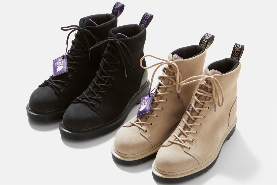THE NORTH FACE PURPLE LABEL and Dr. Martens Release '90s-Style 9-Tie Boot