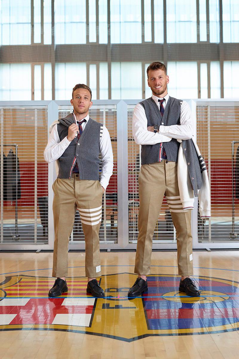 Thom Browne Suits up FC Barcelona videos football soccer champions league 2019/20 season messi